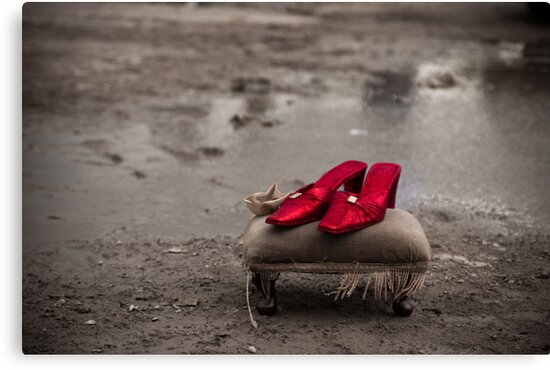 Ruby Red slippers by Cvail73