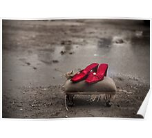 Ruby Red slippers Poster