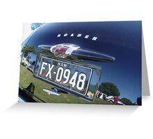 FX Holden Greeting Card