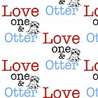 Love One & Otter by GenialGrouty