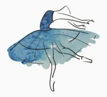 ballerina figure, watercolor T-Shirt