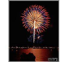 HAVASU FIREWORKS Photographic Print