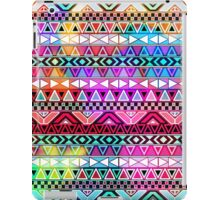 Neon Pink Purple Bright Andes Abstract Aztec Pattern iPad Case/Skin
