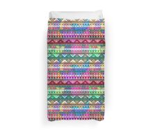 Neon Pink Purple Bright Andes Abstract Aztec Pattern Duvet Cover