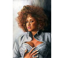 Phyllis Hyman Color Pencil @ www.KeithMcDowellArtist.com  Photographic Print