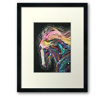 Starborn Pony up close Framed Print