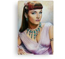 Anne Baxter Color Pencil @ www.KeithMcDowellArtist.com  Canvas Print
