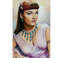 Anne Baxter Color Pencil @ www.KeithMcDowellArtist.com  Photographic Print