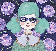 Flower Bandit - Hydrangea by Emma Hampton