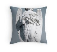 Grieving Angel Throw Pillow