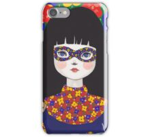 Flower Bandit - Pansy iPhone Case/Skin