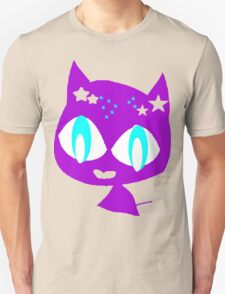 Purple kitten vetor art Unisex T-Shirt