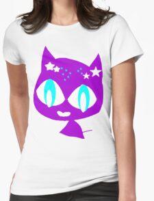 Purple kitten vetor art T-Shirt