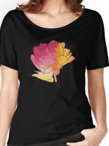 Peony flower Women's Relaxed Fit T-Shirt