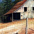 Greek Barn @ www.KeithMcDowellArtist.com  by © Keith McDowell, Artist