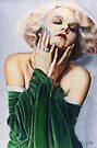 Jean Harlow Color Pencil @ www.KeithMcDowellArtist.com   by © Keith McDowell, Artist