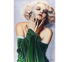 Jean Harlow Color Pencil @ www.KeithMcDowellArtist.com   Photographic Print
