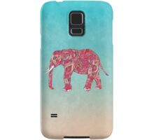 Whimsical Colorful Elephant Tribal Floral Paisley Samsung Galaxy Case/Skin