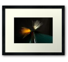 Just a touch Framed Print