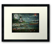 The Moonshine Framed Print