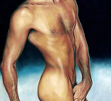 Ben Torres Color Pencil @ www.KeithMcDowellArtist.com  by © Keith McDowell, Artist