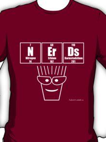 NErDs - White Print T-Shirt