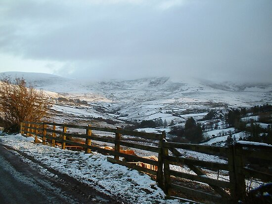 To the North in Nire Valley Snows 2 [view larger] by Pat Duggan