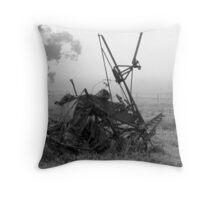 Seeder of a bygone era Throw Pillow