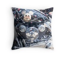 Its a Small Small World Throw Pillow