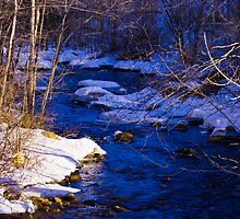 Contoocook River in Wilton, NH by Monica M. Scanlan