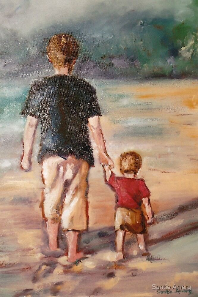 Walk with my Father by Santie Amery