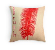Truth/Ma'at Doesn't Have to Hurt Throw Pillow