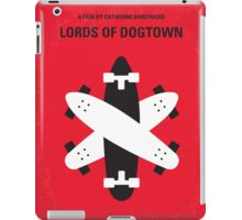 No188 My The Lords Of Dogtown minimal movie poster iPad Case/Skin