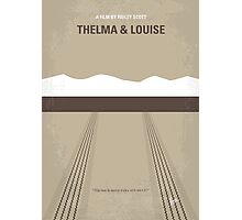 No189 My Thelma and Louise minimal movie poster Photographic Print