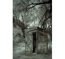Roadside Outhouse Photographic Print