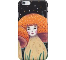Uncommon Variety - Copper Mushroom iPhone Case/Skin