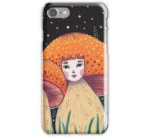 Uncommon Variety - Copper Mushroom iPhone Case/Skin