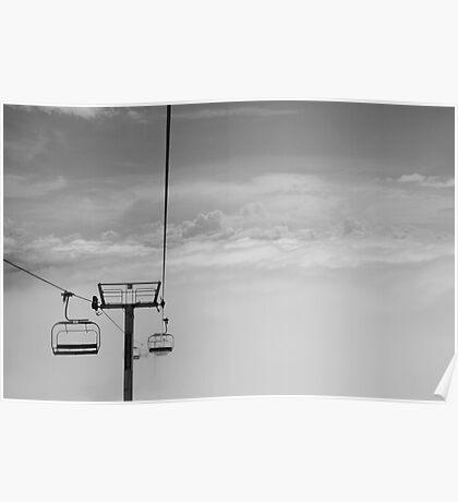Ski Lift to Heaven Poster