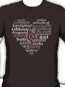 Love in Multi-Language T-Shirt
