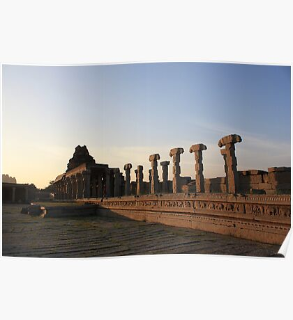 Romancing The Ruins Of Hampi-3 Poster