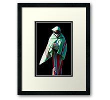 All in Green Framed Print