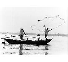 The fisherman's launch Photographic Print