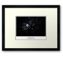 Vampire Night (c)2015 Framed Print