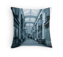 Arcade in perspective Throw Pillow