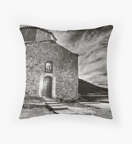 Agios Fanourios Throw Pillow