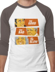 The Good the Bad and the Slow Men's Baseball ¾ T-Shirt