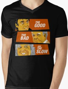 The Good the Bad and the Slow Mens V-Neck T-Shirt