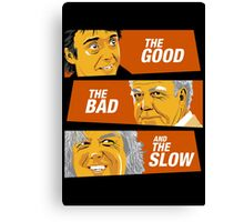 The Good the Bad and the Slow Canvas Print