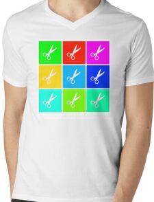 Runs With Scissors Mens V-Neck T-Shirt