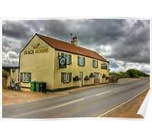 The Black Horse - Ainderby Quernhow Poster